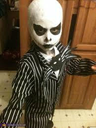 the nightmare before skellington costume