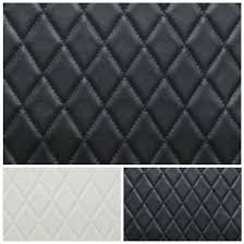 Diamond Upholstery Faux Leather Diamond Stitch Embossed Padded Car Upholstery