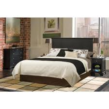 Home Styles Home Styles Bedford Black Queen Headboard 5531 501 The Home Depot