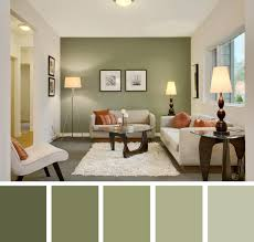 Contemporary Grey And Green Living Room Designs Green Accent - Paint designs for living room