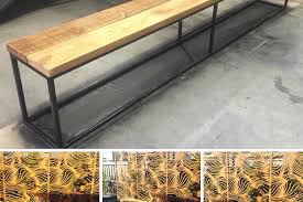 Industrial Bench Recycled Timber U0026 Industrial Furniture 46 Recycled Oregon