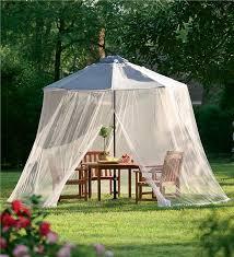 Mosquito Netting For Patio Umbrella Umbrella Mosquito Net Porch Patio Curtains