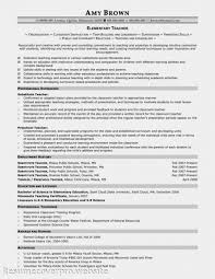 Teaching Resume Examples by Sample Elementary Teacher Resume Examples Ideas X Cover Letter
