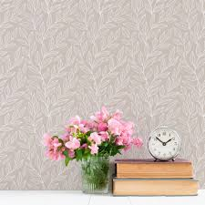 leaf vines removable wallpaper tile