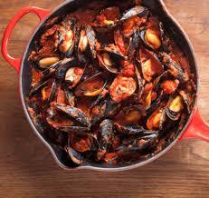 cuisiner moule recette moules à la tomate