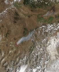 Definition Of Wildfire Intensity by Burn Scars From The Rocky Fire California Nasa