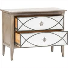 bedroom wonderful mirrored wood nightstand tall bedside tables