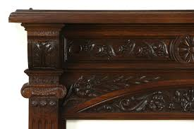 sold oak architectural salvage victorian antique carved