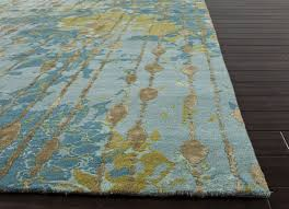 Brown And Turquoise Area Rugs Jaipur Rugs Cg08 Connextion By Jenny Jones Global