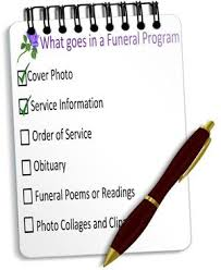 funeral help program if you are a funeral or memorial program check out this