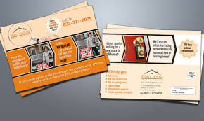 real estate equity house eddm postcard marketing materials designer