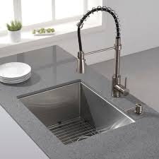 amazing 24 inch stainless steel sink kraus 23 inch undermount single bowl 16 gauge stainless steel