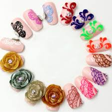 3d gel nail art nail art ideas