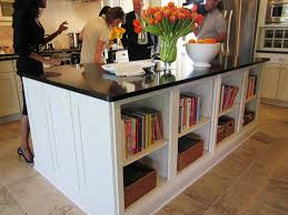 Fast Food Kitchen Design Kitchen Style Bookshelf Kitchens Hanging Bookshelf Open Shelves