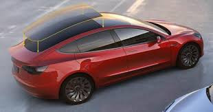 what u0027s behind the expansive glass roof on the tesla model 3
