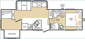 2006 keystone cougar floor plans used 2006 keystone rv cougar 289efs fifth wheel at vermont country