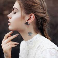 28 small neck tattoos for styleoholic