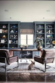 Home Office Bookshelf Ideas Home Office Bookshelf Ideas Home Office Transitional With Gray
