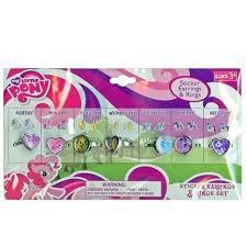 my pony earrings 5 my pony sticker earrings rings value