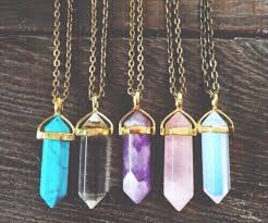 natural gemstone necklace images Jewels cute spring gemstone crystal choker necklace jewelry jpg