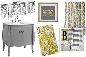 Gray Yellow Bathroom - sheknows spacelifts 10 refreshing styles for your bathroom