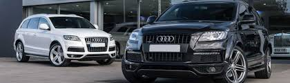 Audi Q7 Night Black - audi q7 self drive available black white bradford leeds yorkshire