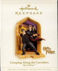creeping along the corridors harry potter hallmark