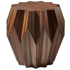 Zebra Side Table Zebra Wood Table Zebra End Table Reclaimed Zebrawood Table By