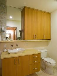 cabinet above toilet houzz