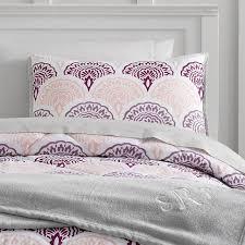 Blush Pink Comforter Scallop Deluxe Comforter Set