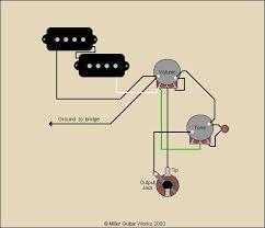 miller guitar standard p bass wiring diagram