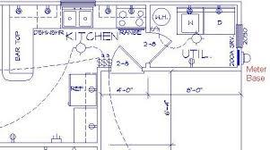 Floor Plan Electrical Symbols Sample Bath Electrical Plan Parra Electric Inc Electrical