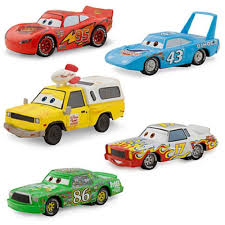 cars movie disney pixar cars movie 1 43 die cast car 5 pack piston cup