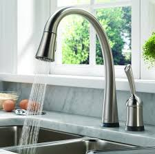 touch faucets for kitchen touch kitchen faucets dosgildas com