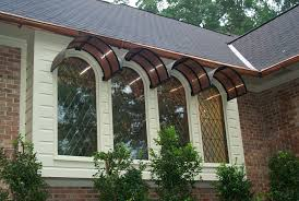 Exterior Awnings Custom Copper Arched Exterior Awnings These Custom Window U2026 Flickr