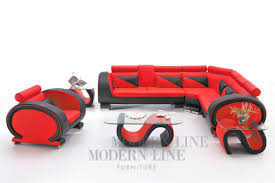 Modern Line Furniture Commercial Furniture Red And Black Coffee Tables
