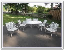 White Metal Patio Furniture - furniture fill your patio with mesmerizing tropitone furniture