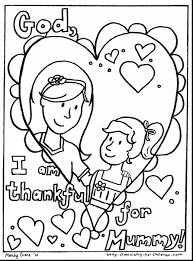 fabulous mothers day coloring cards with mom coloring pages