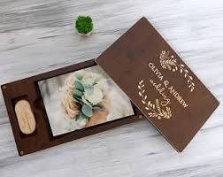 engraved memory box wedding gift ideas gift for wedding photo box wood