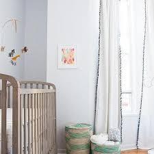 Nursery Curtain Pom Pom Nursery Curtains Design Ideas