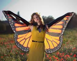 Blue Butterfly Halloween Costume Dragonfly Fairy Wings Purple Pink Blue Butterfly Cape Cloak