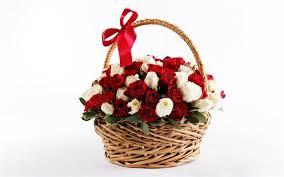 telecharger corbeille de bureau télécharger fonds d écran panier de fleurs corbeille de roses