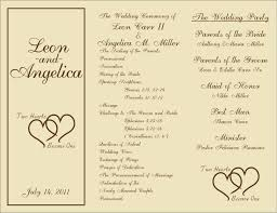 paddle fan program template wedding ideas creative wedding program wording inspirations