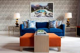 Living Room With Blue Sofa Lighting It Right How To Choose The Perfect Table Lamp