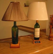 4 easy steps to creating a unique wine bottle lamp 6 steps with