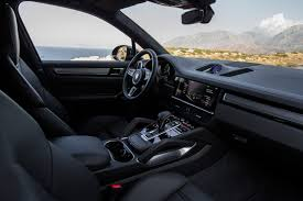 porsche suv interior 2017 test drive 2019 porsche cayenne turbo cool hunting