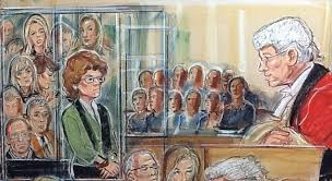 objection 11 unflattering celebrity courtroom sketches the poke