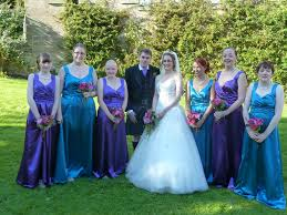 bridesmaid dresses different colours choice image braidsmaid