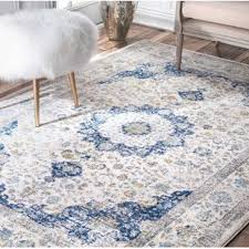 Gray Blue Area Rug Area Rugs Joss