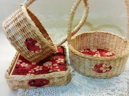easter baskets online buy the set of easter baskets on livemaster online shop